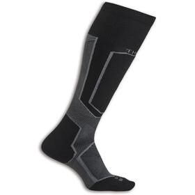 Thorlos Extreme Ski Chaussettes montantes, noir/gris